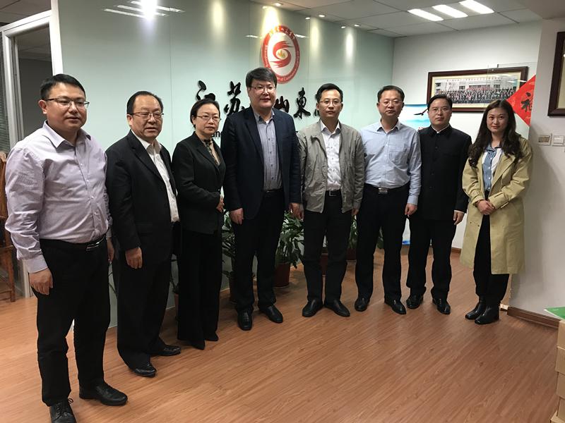 遂宁市委常委、市直机关工委书记赵京东一行到访乐虎国际游戏