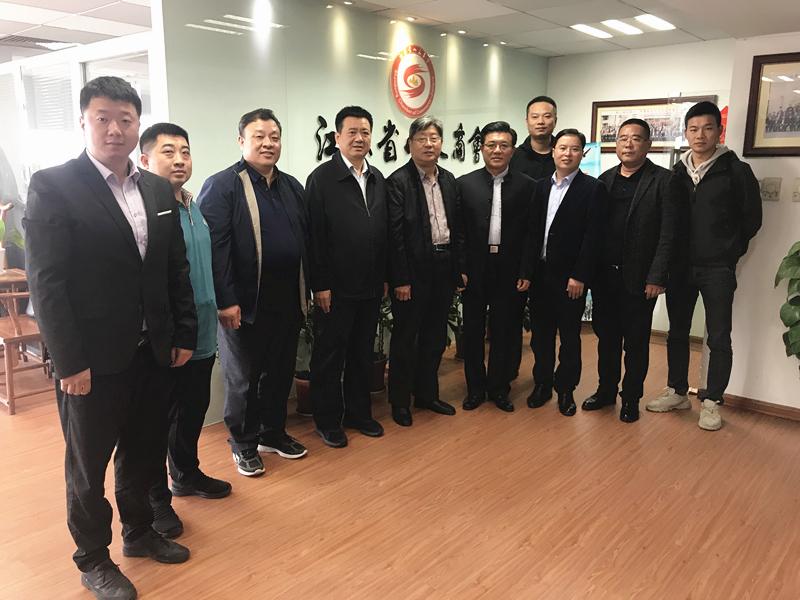 聊城市委统战部副部长、市工商联党组书记、 常务副主席徐文华一行到访乐虎国际游戏