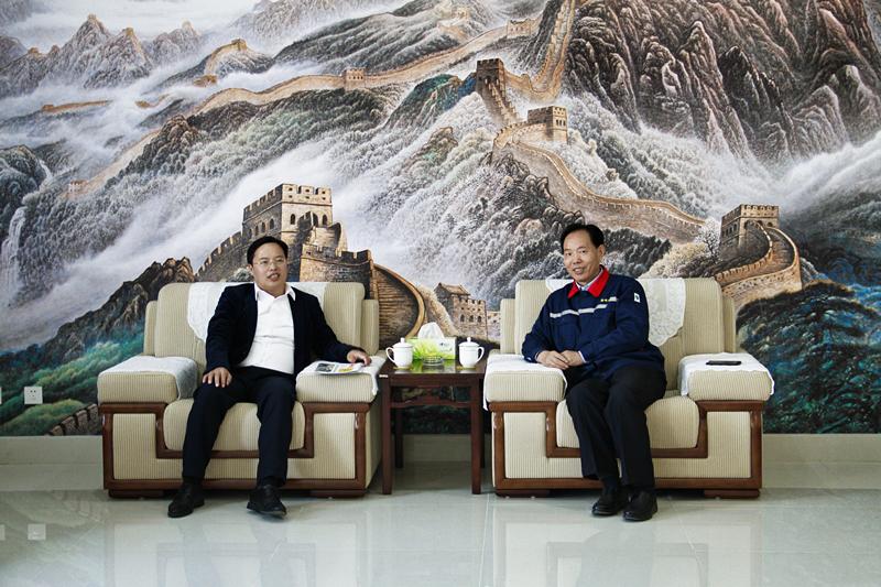 李培林会长赴淮安走访雷电竞赛事富强新材料雷电竞备用网站
